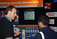 OVAL/Making Security Measurable booth at RSA 2008