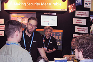 OVAL/Making Security Measurable booth at RSA 2011