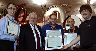 February 2006 OVAL Compatibility Awards